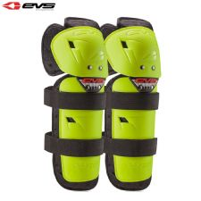 New 16 Adult EVS Knee/Shin Guards Pads Motocross Enduro BMX Quad ATV Hi Viz Yel